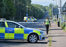 Main arterial road closed after serious accident, Edinburgh, 25 May 2018