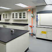 Ghirardelli Quality Assurance Lab Industrial Infrastructure- Architectural Photography Example of Chip Allen's work.
