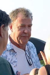 Cornbury Festival, Oxfordshire.<br /> English broadcaster, journalist and writer Jeremy Clarkson takes in the sun at Cornbury Music Festival in front of a sun soaked crowd,<br /> Great Tew Park, Oxfordshire, United Kingdom<br /> Saturday, 6th July 2013<br /> Picture by Rosalind Butt / i-Images<br /> File photo - Jeremy Clarkson's wife to divorce him after 21 years of marriage'. Photo filed Tuesday 6th May 2014.