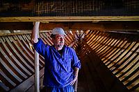 Espagne, Pays Basque, Guipuscoa, Pasaia, Albaola, Faktoria Maritime Basque, construction du baleinier San Juan, Xabier Agote // Spain, Basque Country, Guipuscoa, Pasaia, Albaola, Faktoria Maritime Basque, construction of the whaling ship San Juan, Xabier Agote
