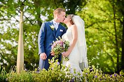 Wedding at St Peter's Church in Benington, Hertfordshire
