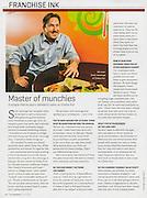 Entrepreneur: Master of munchies (June 2013)
