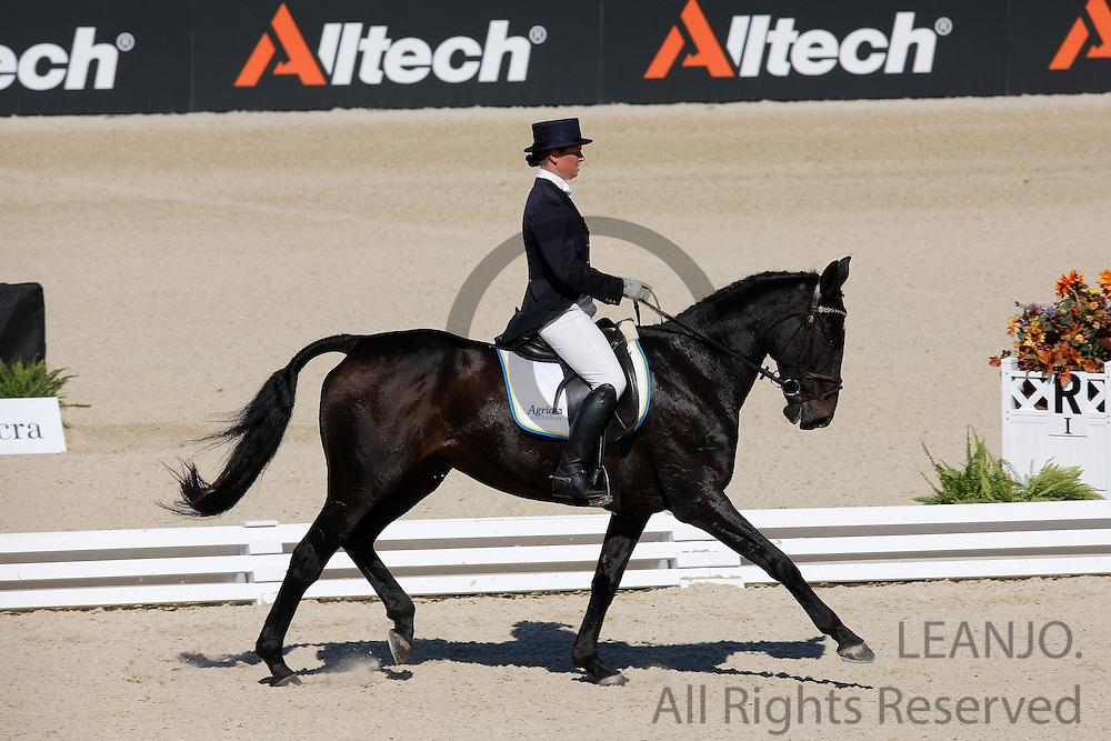 Katrin Norling - Pandora Emm  <br /> Alltech FEI World Equestrian Games <br /> Lexington - Kentucky 2010<br /> © DigiShots