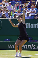 Caroline Wozniacki Vs Ashleigh Barty Action at the Nature Valley International at Devonshire Park, Eastbourne, United Kingdom on 28th June 2018. Picture by Jonathan Dunville.