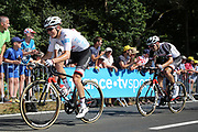 Soren Kragh Andersen (DEN - Team Sunweb) - Tom Dumoulin (NED - Team Sunweb) during the 105th Tour de France 2018, Stage 6, Brest - Mur de Bretagne Guerledan (181km) in France on July 12th, 2018 - Photo Ilario Biondi / BettiniPhoto / ProSportsImages / DPPI