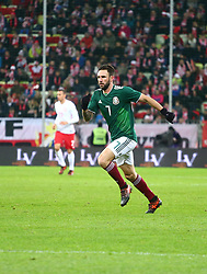 November 13, 2017 - Gdansk, Poland - Miguel Layun during the international friendly soccer match between Poland and Mexico at the Energa Stadium in Gdansk, Poland on 13 November 2017  (Credit Image: © Mateusz Wlodarczyk/NurPhoto via ZUMA Press)