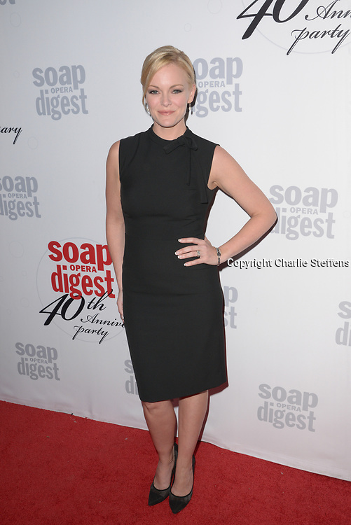 MARTHA MADISON at Soap Opera Digest's 40th Anniversary party at The Argyle Hollywood in Los Angeles, California
