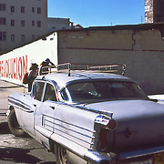 Havana, Cuba photo of a car from pre - revolutionary days