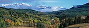 Valley in southwest Colorado