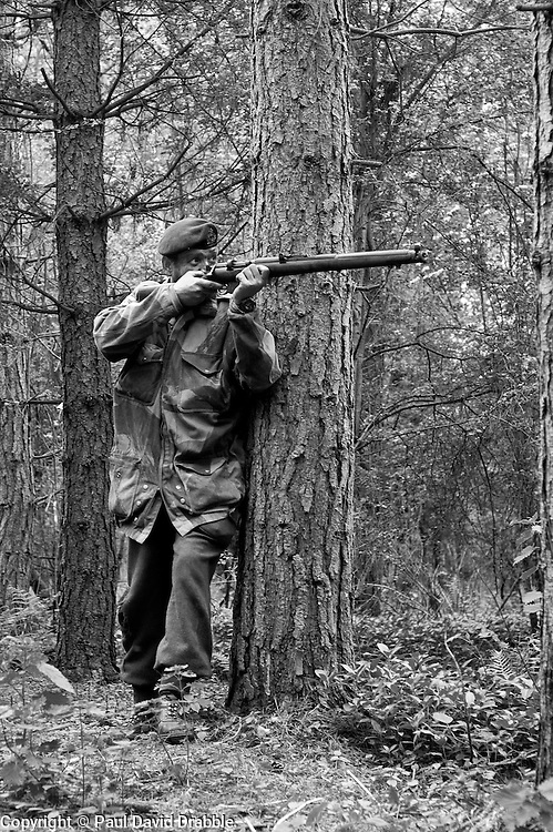 Northern World War Two Association Private Battle..14  May 2011.Images © Paul David Drabble
