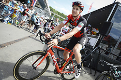 June 17, 2017 - Schaffhausen, Schweiz - Schaffhausen, 17.06.2017, Radsport - Tour de Suisse, Stefan Küng (SUI) an der  Tour de Suisse. (Credit Image: © Melanie Duchene/EQ Images via ZUMA Press)