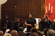 "14 April 2012-Santa Barbara, CA: ""This Joy That I Have"", Greater Hope Missionary Baptist Church Choir.  Babatunde Folayemi Memorial Service at First United Methodist Church, 305 East Anapamu Street, Santa Barbara, CA. Family and friends gathered immediately following the service for refreshments and sharing in the Fellowship Hall of the church.<br />