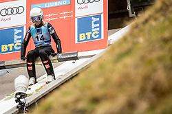 Marita Kramer of Austria during Day 3 of World Cup Ski Jumping Ladies Ljubno 2019, on February 10, 2019 in Ljubno ob Savinji, Slovenia. Photo by Matic Ritonja / Sportida