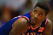 FORT WORTH, TX - JANUARY 28: Jamari Traylor #31 of the Kansas Jayhawks looks on against the TCU Horned Frogs on January 28, 2015 at Wilkerson-Greines AC in Fort Worth, Texas.  (Photo by Cooper Neill/Getty Images) *** Local Caption *** Jamari Traylor