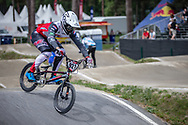 #921 (HARMSEN Joris) NED during practice at Round 5 of the 2018 UCI BMX Superscross World Cup in Zolder, Belgium