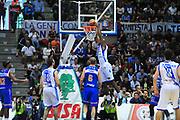 DESCRIZIONE : Sassari Lega A 2013-14 Dinamo Sassari - Enel Brindisi<br /> GIOCATORE : Caleb Green<br /> CATEGORIA : Tiro<br /> SQUADRA : Dinamo Sassari<br /> EVENTO : Campionato Lega A 2013-2014 <br /> GARA : Dinamo Sassari - Enel Brindisi<br /> DATA : 11/05/2014<br /> SPORT : Pallacanestro <br /> AUTORE : Agenzia Ciamillo-Castoria/M.Turrini<br /> Galleria : Lega Basket A 2013-2014  <br /> Fotonotizia : Sassari Lega A 2013-14 Dinamo Sassari - Enel Brindisi<br /> Predefinita :