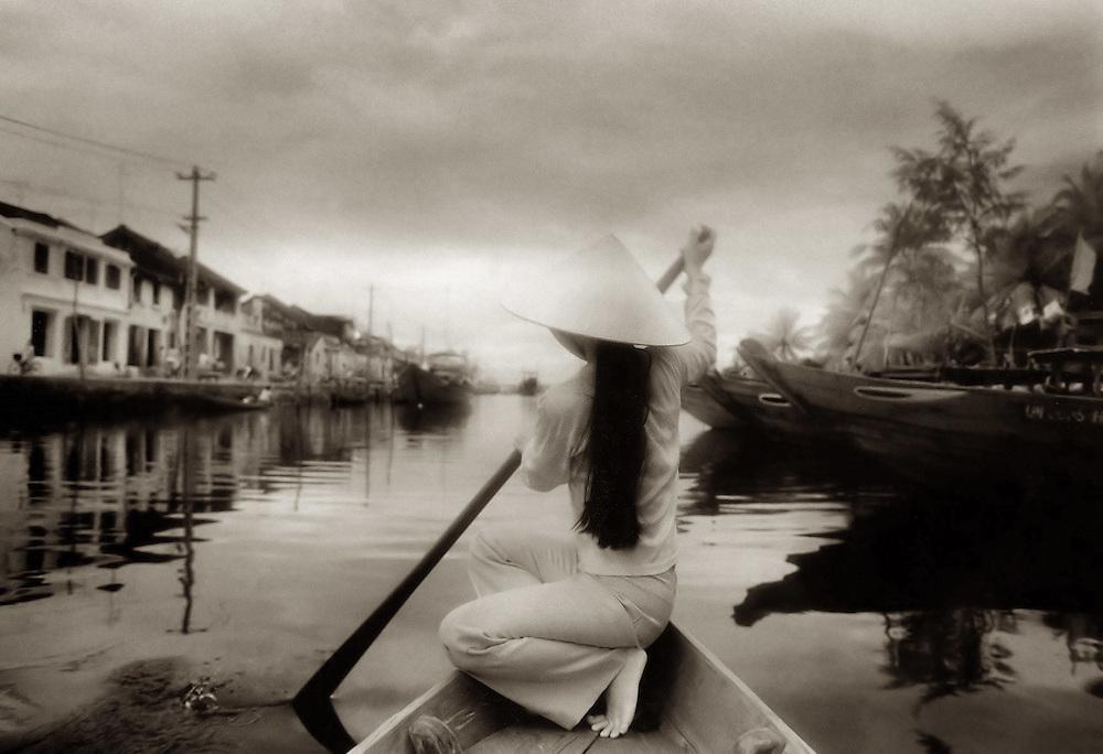 Hoi An Boat Girl - Hoi An, Vietnam.