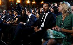 Will Smith, John Legend beim Empfang im Weissen Haus zur Einweihung des neuen Museums für Afroamerikanische Geschichte und Kultur in Washington <br /> <br /> / 240916<br /> <br /> *** Opening ceremony of the Smithsonian National Museum of African American History and Culture on September 24, 2016 in Washington, DC ***