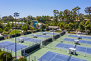 Aerial View of Mission Viejo Tennis Center