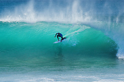 Current equal No.3 on the Jeep Leaderboard Owen Wright of Australia finished equal 9th in the Corona Open J-Bay after placing second to reigning World Champion John John Florence of Hawaii in Heat 2 of Round Five in pumping Supertubes, Jeffreys Bay, South Africa.