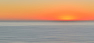 USA, California, Ranchos Palos Verdes. Abstract sunset.