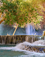 Mooney Falls in Supai, Arizona.