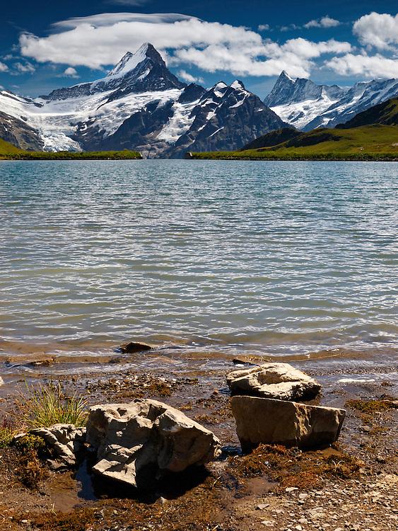 Switzerland - Bachalps lake
