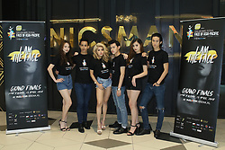 April 11, 2018 - Kuala Lumpur, Wilayah Perseketuan, Malaysia - Finalist for the 2018 Face of Asia Pacific model search, team from Singapore. Singapore team represented by Ms Queenie Lim Yi Xuan, Ms Peggy Heng Pei Yu, Ms May Low, Mr Ng Su Low, Mr Ricly Lai Bao Qi, Mr Syahrul Naem Bin Jailani. (Credit Image: © Alexsoh/Pacific Press via ZUMA Wire)