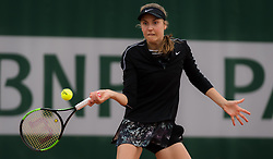 May 21, 2019 - Paris, FRANCE - Antonia Lottner of Germany in action during the first qualifications round at the 2019 Roland Garros Grand Slam tennis tournament (Credit Image: © AFP7 via ZUMA Wire)