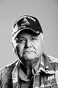 Victor M. Alarcon<br /> Army<br /> O-4<br /> Combat Field Surgeon<br /> 1971 - 1995<br /> Gulf War<br /> <br /> Veterans Portrait Project<br /> Phoenix, AZ