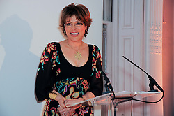 KATE SILVERTON at the presentation of the Veuve Clicquot Business Woman Award 2010 held at the Institute of Contemporary Arts, 12 Carlton House Terrace, London on 23rd March 2010.  The winner was Laura Tenison - Founder and Managing Director of JoJo Maman Bebe.
