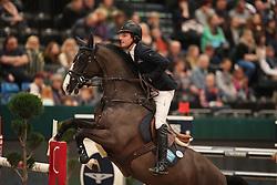 Lindelow Douglas, (SWE), Udermus<br /> Championat of Leipzig<br /> CSIO Leipzig 2016<br /> © Hippo Foto - Stefan Lafrentz