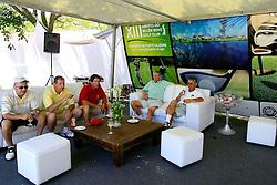 Relax após jogo do XIII Aberto do Belém Novo Golf Club.  FOTO: Itamar Aguiar/Preview.com