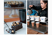 Hot Coffee and Chocolate cake, anyone? by Rodney Bedsole, a food photographer based in Nashville and New York City.