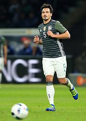 Germanys Mats Hummels - Mandatory by-line: Matt McNulty/JMP - 26/03/2016 - FOOTBALL - Olympiastadion - Berlin, Germany - Germany v England - International Friendly