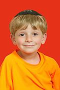 Portrait of Child in Modiin, Israel. Photography by Debbie Zimelman