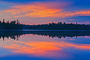 Lyons Lake at dawn<br />Whiteshell Provincial Park<br />Manitoba<br />Canada