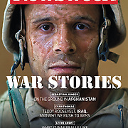 Newsweek Magazine cover of Garmsir Marines in Helmand, Afghanistan. This was one of four covers to appear simultaneously using four different portraits of U.S. Marines for the same issue of the magazine.
