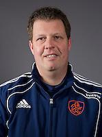 UTRECHT - Assistent coach Bas Dirks, Nederlands team hockey Jongens A. FOTO KOEN SUYK