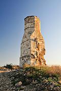 Israel, Yavne (Ibelin), the remains of the mamluk fortress at Tel Yavne