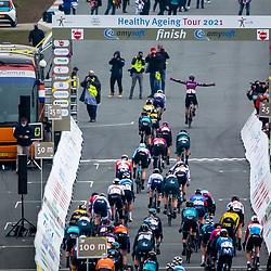 10-03-2021: Wielrennen: Healthy Ageing Tour: Assen<br />De openingsrit van de Healthy Ageing Tour werd verreden op het TT circuit