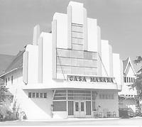 1940 Casa Manana Nightclub on Washington Blvd.