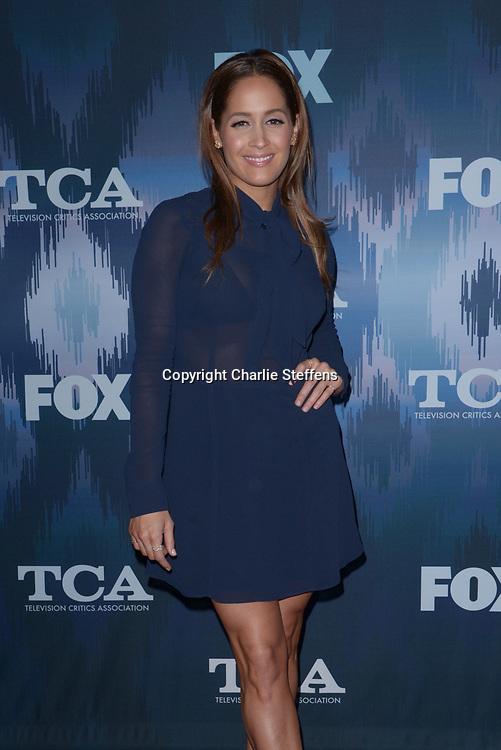 JAINA LEE ORTIZ at the Fox Winter TCA 2017 All-Star Party at the Langham Hotel in Pasadena, California