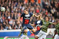 2eme But Zlatan Ibrahimovic (psg) - Fethi Harek (bas)