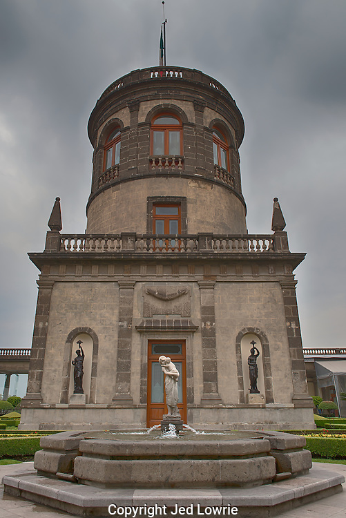 While the Chaputepec Castle is far from garden variety, there are a variety of gardens within the compound.  This exquisite site has been used in many films and is precisely maintained.