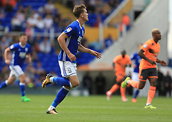 Sam Gallagher of Birmingham City - Mandatory by-line: Paul Roberts/JMP - 26/08/2017 - FOOTBALL - St Andrew's Stadium - Birmingham, England - Birmingham City v Reading - Sky Bet Championship