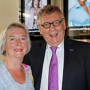 NLD/Amsterdam/20120610 -Uitreiking Johan Kaartprijs 2012, John Lanting en partner Jenneke van der Heiden