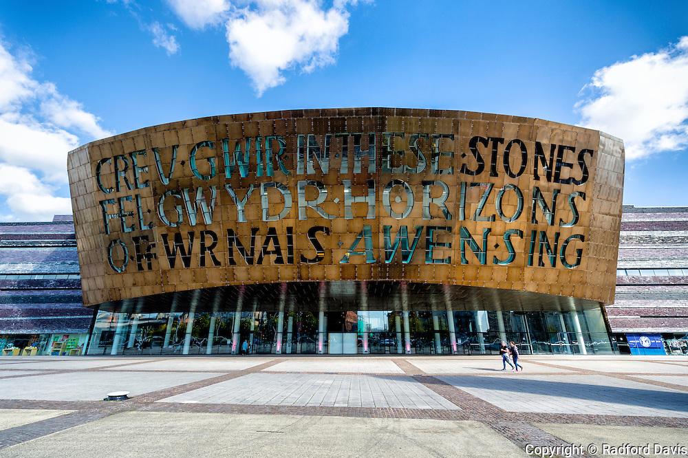 Millennium Center, Cardiff, Wales