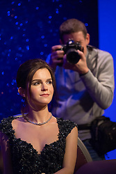 © licensed to London News Pictures. London, UK 26/03/2013. Photographers taking pictures of a new wax figure of Emma Watson at Madame Tussauds London on Tuesday 26 March 2013. Photo credit: Tolga Akmen/LNP