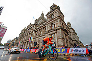 Time Trial Men 45,7 km, Jos Van Emden (Netherlands) during the Road Cycling European Championships Glasgow 2018, in Glasgow City Centre and metropolitan areas Great Britain, Day 7, on August 8, 2018 - photo Luca Bettini / BettiniPhoto / ProSportsImages / DPPI<br /> - restriction - Netherlands out, Belgium out, Spain out, Italy out